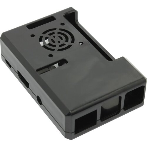 Корпус ACD Black ABS Plastic Case w / GPIO port hole and Fan holes for Raspberry Pi 3 RA187