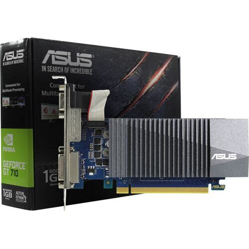 Видеокарта ASUS GeForce® GT 710 1 Гб GDDR5 (GT710-SL-1GD5-BRK)